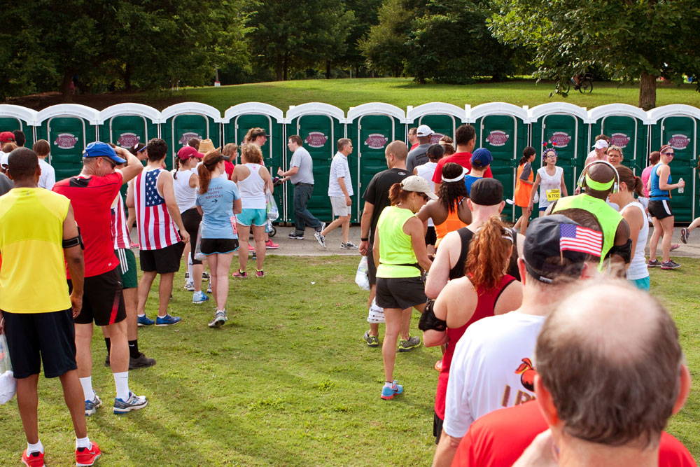 Road Race Event Portable Toilets from Quality Local Providers