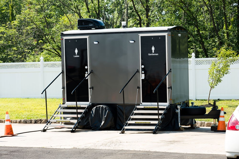 Air Conditioned Restroom Trailers for Events and Construction Sites