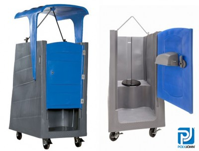 Open Top Construction Portable Toilets - Sizes & Types
